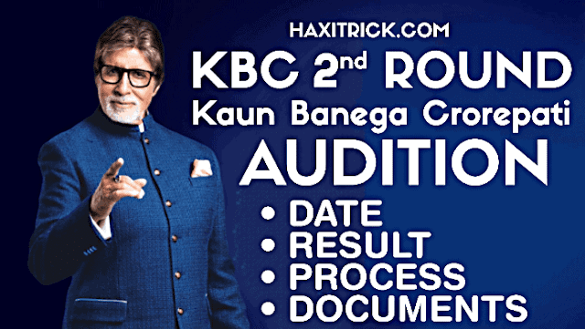 KBC 2020 2nd Round Audition Date Process Result Hindi