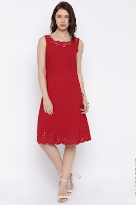 Knee -Length Dress online