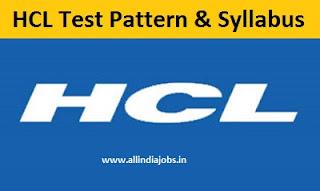 HCL Test Pattern