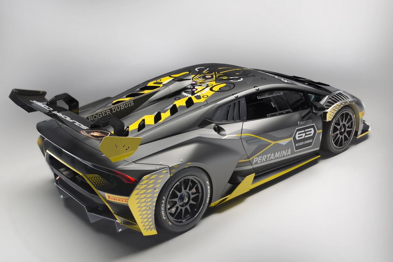lamborghini huracan super trofeo evo unveiled with improved aerodynamics carscoops. Black Bedroom Furniture Sets. Home Design Ideas