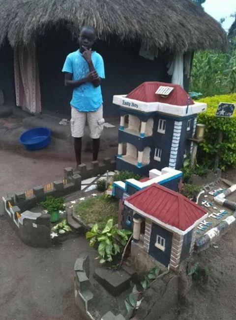 Talented Young Boy Built This Beautiful House