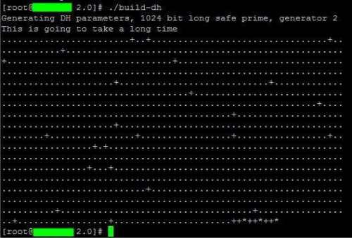 Build Diffie Hellman