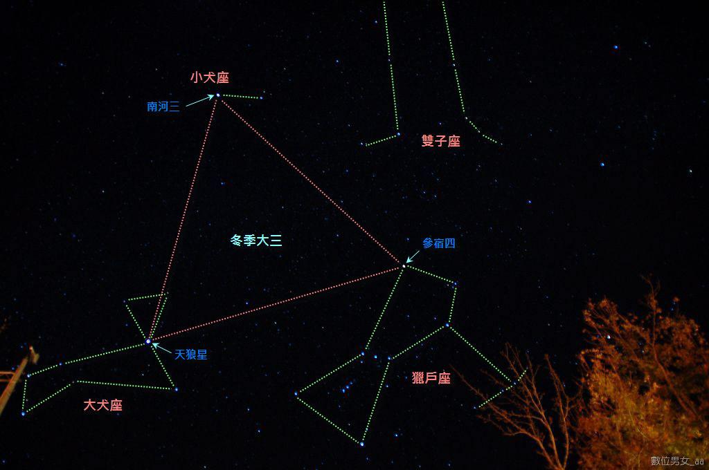 小玥: 冬季大三角