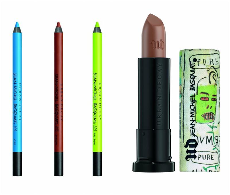 nuevo tono de labial colección de Basquiat