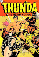 Thunda King of the Congo v1 #1 comic book cover art by Frank Frazetta
