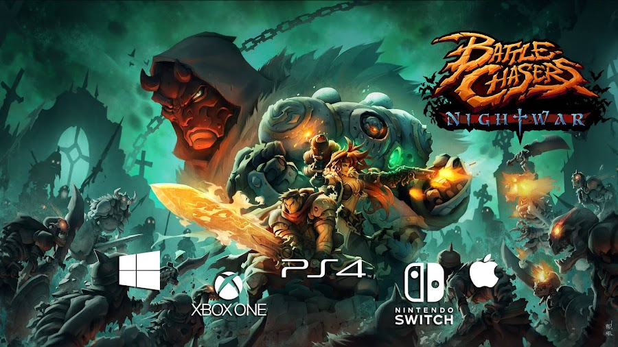 battle chasers nightwar release date