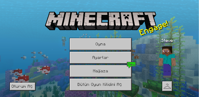 Minecraft Arayüz İncelemesi