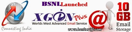 BSNL XGENPLUS advanced Email Services launched for Broadband users live at mail.bsnl.co.in