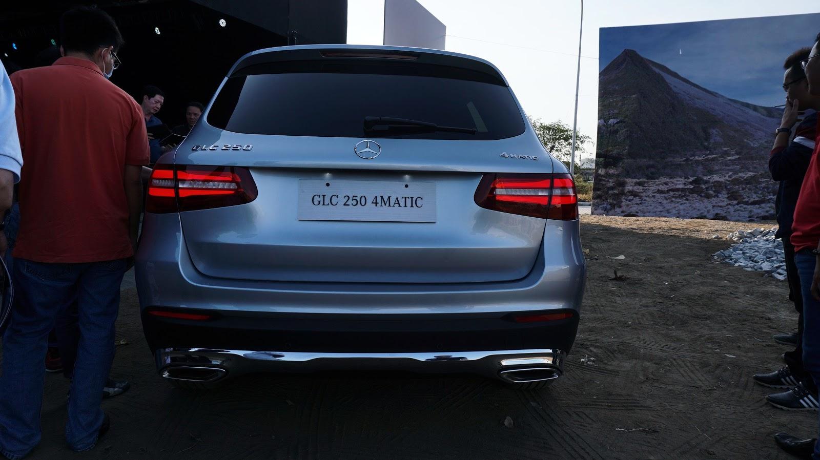Cận cảnh Mercedes-Benz GLC 250 4Matic 2016