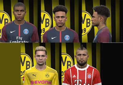 PES 2017 Facepack Update by FaceEditor Jefferson_SF