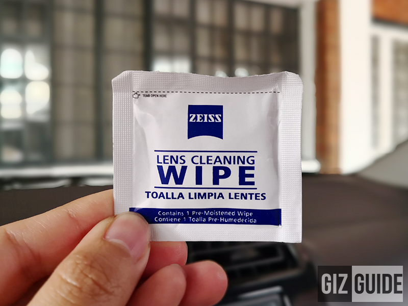 Zeiss Lens Cleaning Wipe
