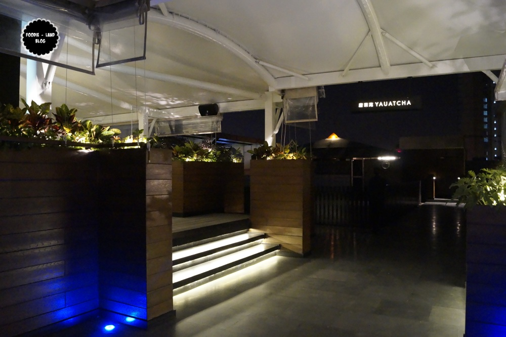 Yauatcha terrace review bangalore foodie land blog for Terrace restaurants in bangalore