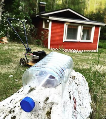 kasvihuone, tee se itse, tyhjä pullo