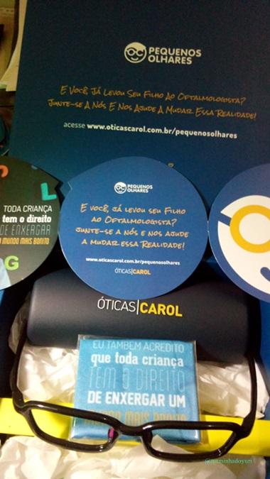 1dca38faf Turminha do Yuri : Óticas Carol lança Programa Social Pequenos Olhares