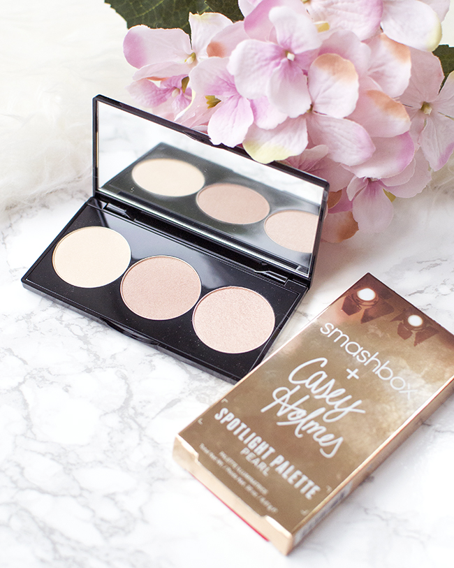 Smashbox X Casey Holmes Spotlight Highlighting Palette Pearl
