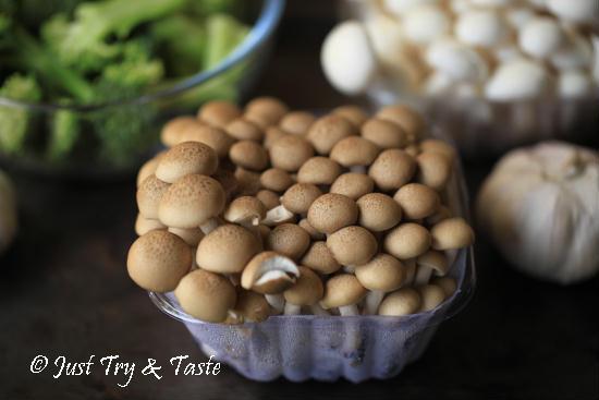 Resep Brokoli Siram Jamur Bawang Putih