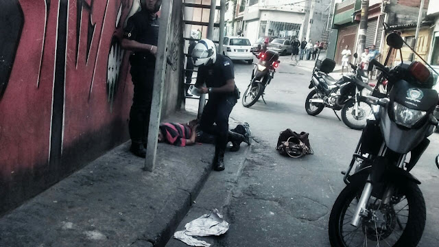 ROMO da GCM de Santo André detém meliante após furtar bolsas dentro do SESC