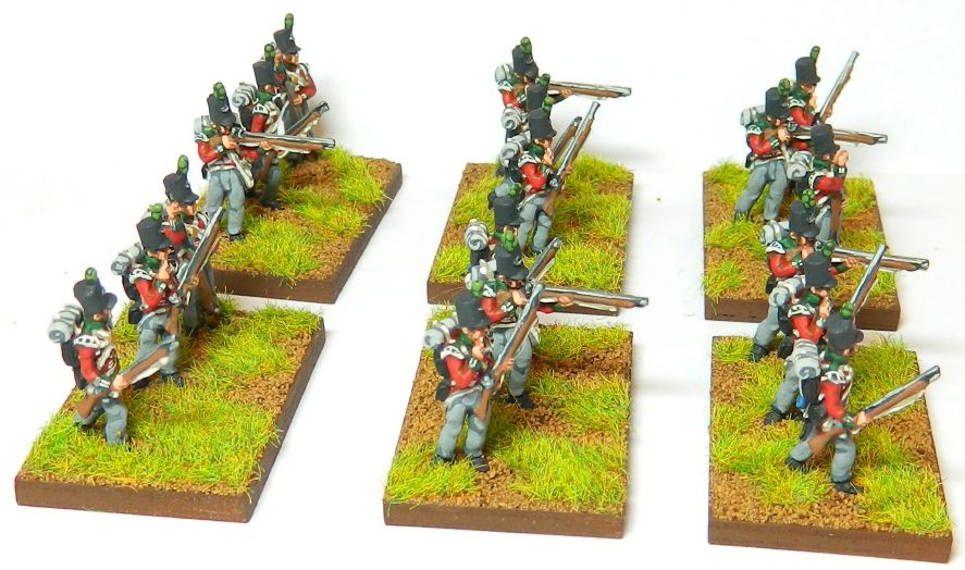 Painting 95th Rifles