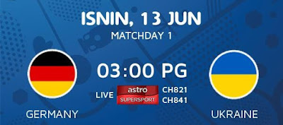 Live Streaming Keputusan Germany Vs Ukraine EURO 2016