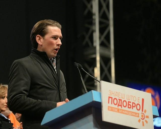 Sebastian Kurz: Mazedonien bleibt Schlüsselpartner bei der Bewältigung der Migrationskrise