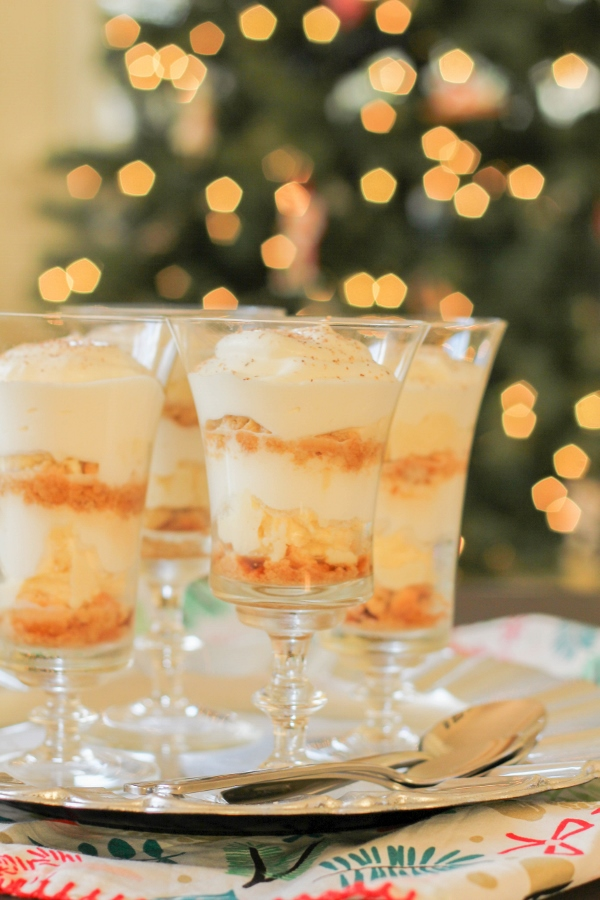 Add a festive twist to traditional tiramisu with creamy mascarpone cheese, sugar cookies, and homemade sugar cookie whipped cream!