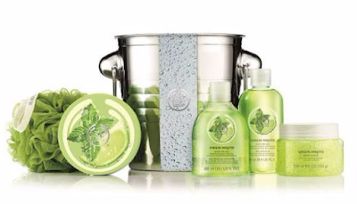 the body shop virgin mojito body butter