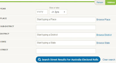 Australian Electoral Roll Indexes, and Who Could Vote