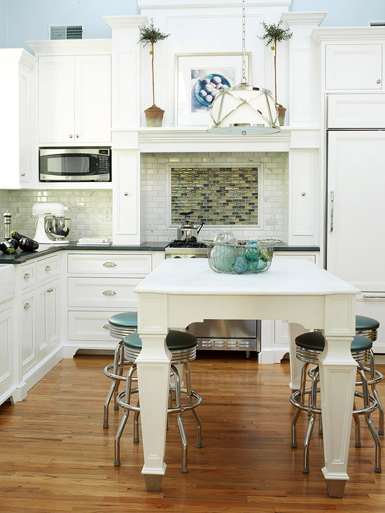 Room Designer Kitchen: New Home Interior Design: Blue Kitchen Design Ideas