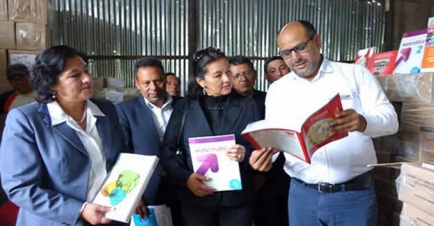 MINEDU entregará 53 millones de materiales educativos este año - www.minedu.gob.pe