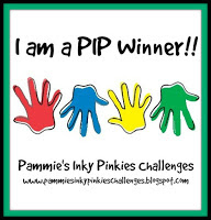 WINNER OVER AT PAMMIE'S INKY PINKIES
