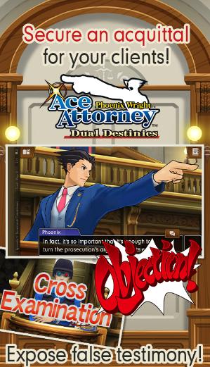 Ace Attorney Dual Destinies APK