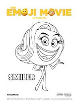 Colorir Personagens do Filme EMOJI