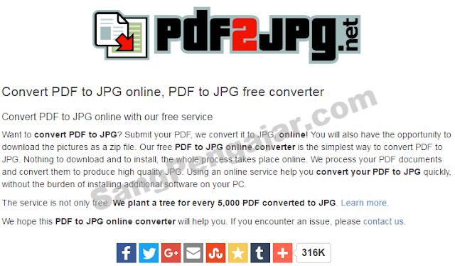 Inilah Cara Mengubah PDF ke JPG dengan Cepat