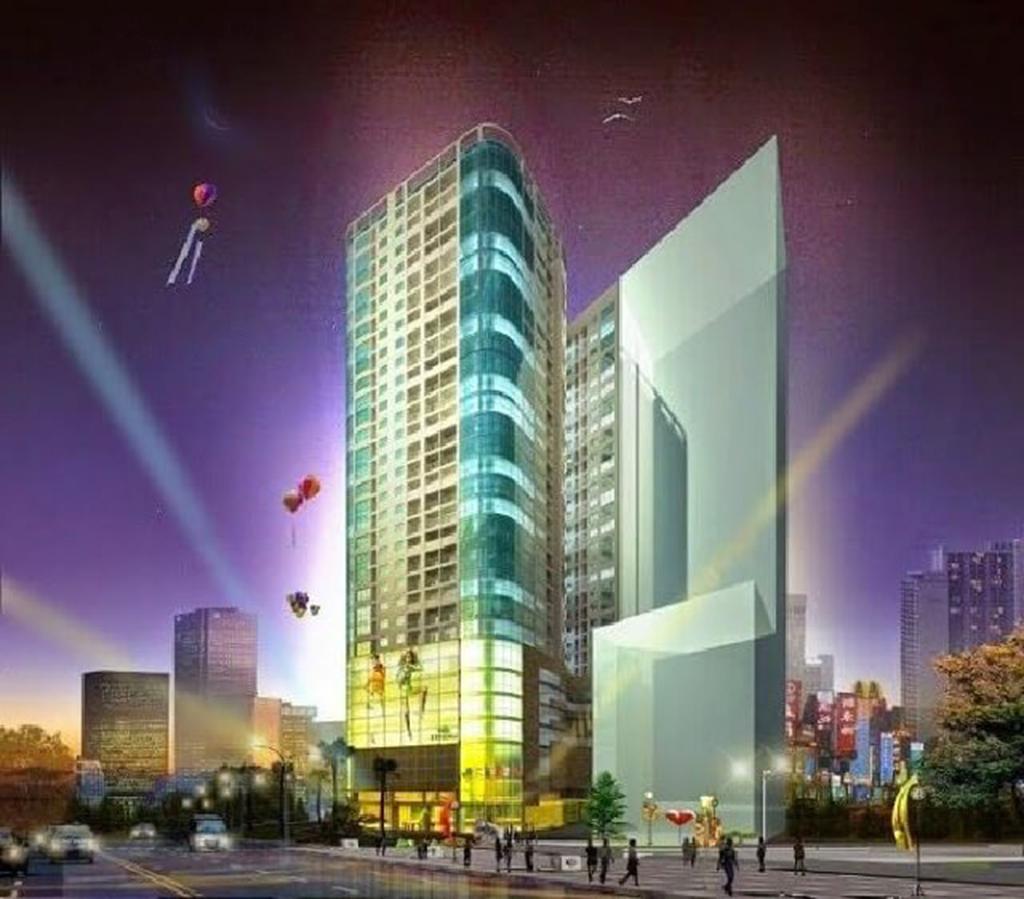 Phối cảnh dự án số 4 Trần Hưng Đạo của TNR Holdings Việt Nam