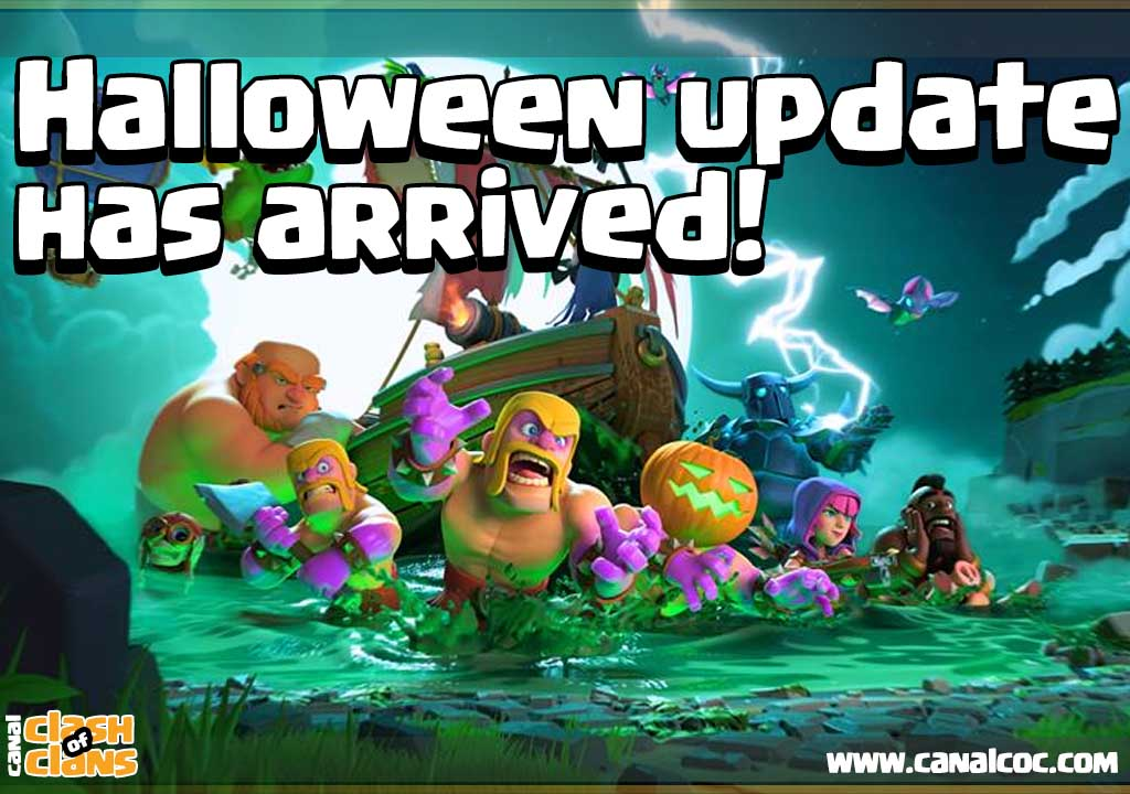 Halloween update has arrived! ~ Canal Clash of Clans