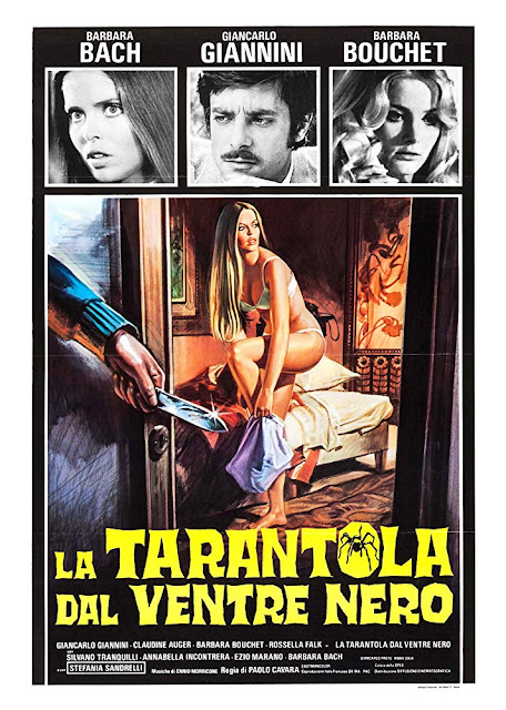Black Belly of the Tarantula 1971 movie poster