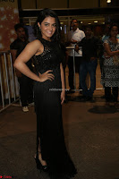 Wamiqa Gabbi in a sleeveless Black Designer Transparent Gown at 64th Jio Filmfare Awards South ~  Exclusive 146.JPG