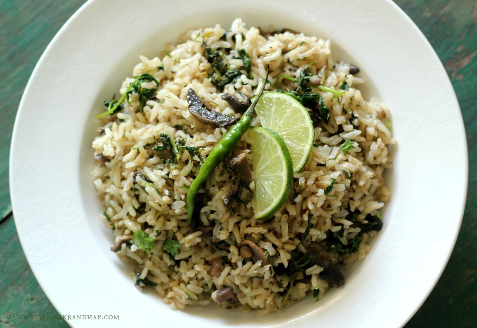 Flavoured Rice With Brown Basmati As The Pressure Cooker Helps Cook It  Faster And Then All