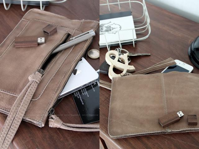 Ampersand Schlüsselanhänger selbermachen, Clutch statt Handtasche,