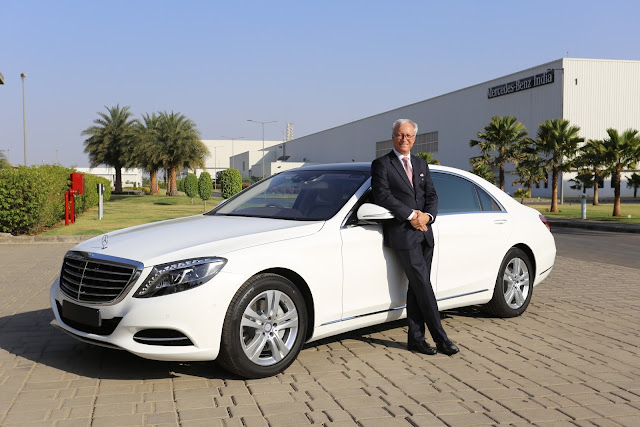 Mercedes-Benz drives in the flagship S-Class'Connoisseur's Edition',enhances excellence in luxury mobility