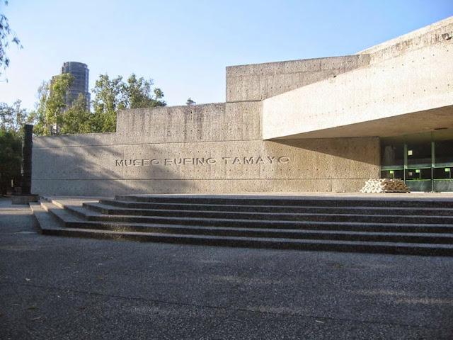 Museo Rufino Tamayo. Ciudad de Mexico