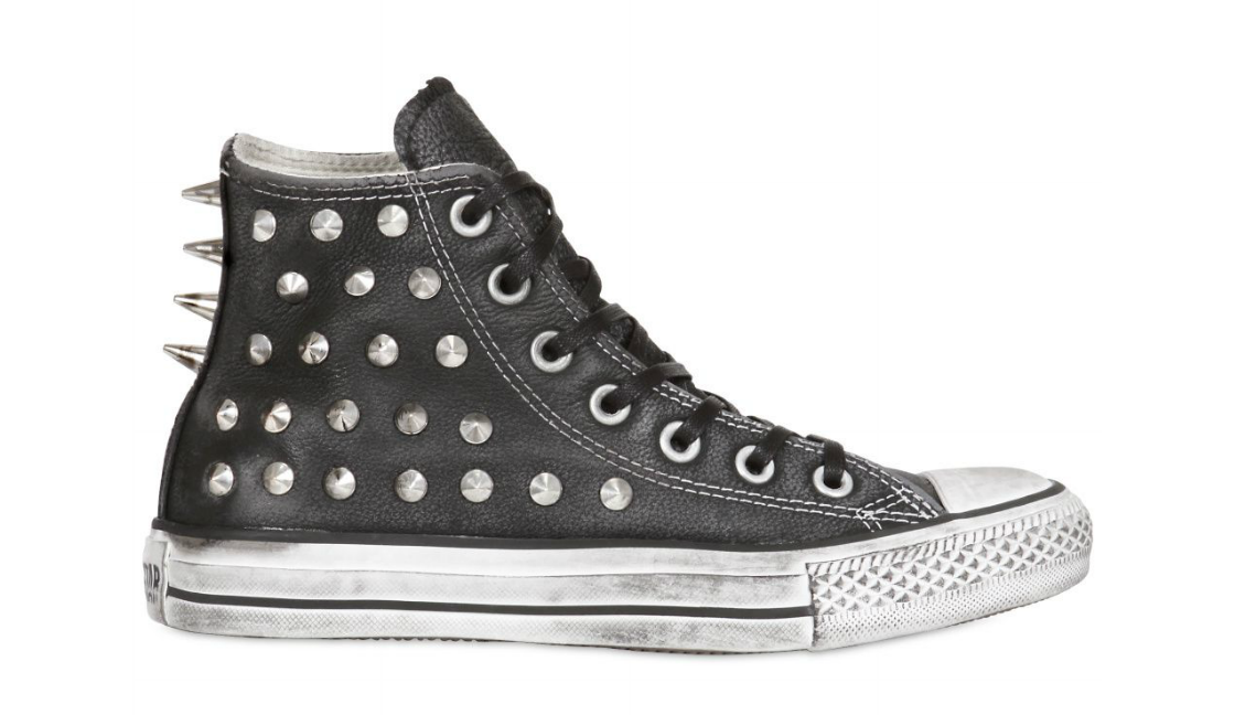 3cfe54c6b161 Converse Fall Winter 2012 Vintage Studded Leather Sneakers –  370 AUD