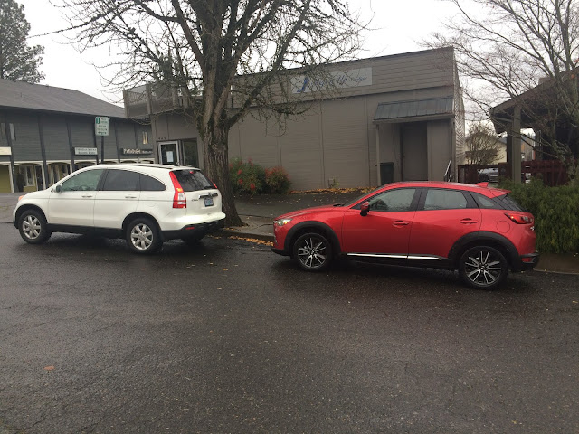 Honda CR-V vs Mazda CX-3