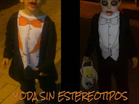 halloween; coloured costume; halloween make up