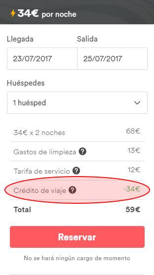 35€ de descuento en AIRBNB