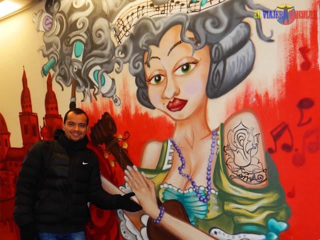 Graffiti en Salzburgo