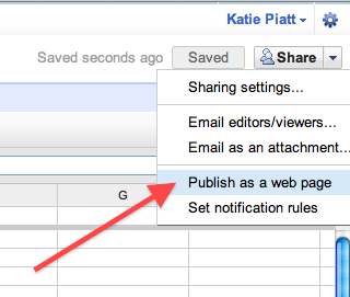 Make a Searchable Online Database -or- I Love Google Spreadsheets