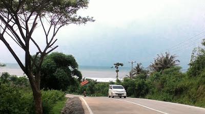 Pantai Rancabuaya terkini