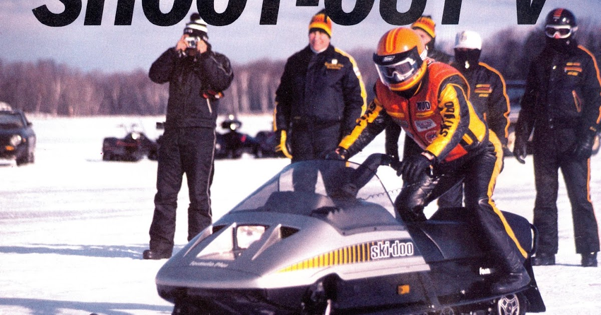 CLASSIC SNOWMOBILES OF THE PAST: 1984 - SKI-DOO FORMULA ...
