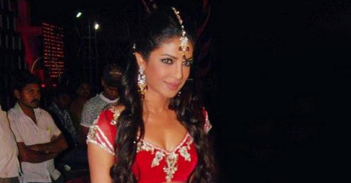 Priyanka Chopra In Harem Pants And Blouse Showing Belly